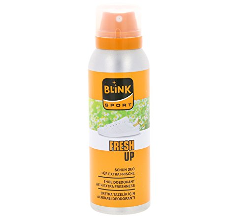 Blink Schuhpflege Schuhdeo Geruchsstopp Hygienespray 125 ml (Orange)