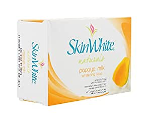 SkinWhite Naturals Papaya Milk Whitening Soap 125g