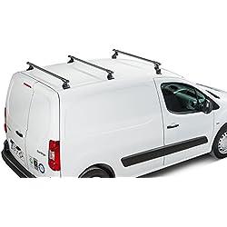 Cruz Peugeot Partner Tepee (II) (2008-to Date) Barres de Toit en Acier résistant 76,2x 50,8cm Diamètre 3Bar Système