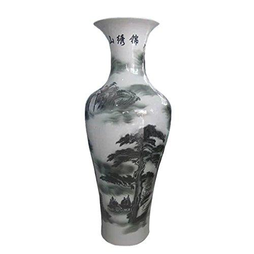 fishtail-type-floor-vase-of-underglaze-splash-ink-and-white-glazed-porcelain-mountain-ancient-pine-w