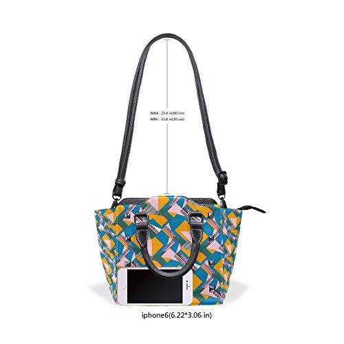 COOSUN , Damen Henkeltasche mehrfarbig mehrfarbig 38 Multicolor#2