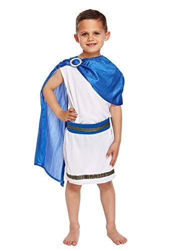 Jungen römische Kaiser Caesar Kostüm Alter - Römisches Kostüm Für Jungen