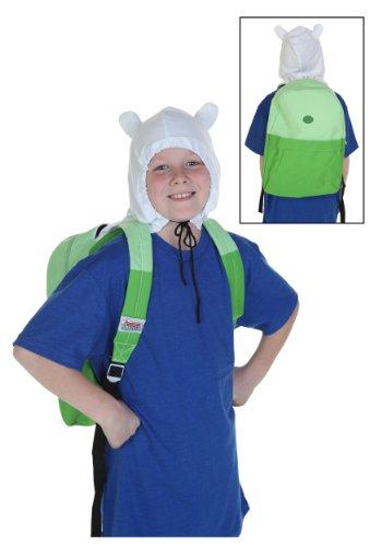 Adventure Time Finn Hood Kostüm - Adventure Time Finn-kostüm