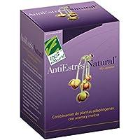 100% natural AntiEstres Natural Suplemento de Hierbas - 60 Cápsulas