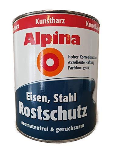 Alpina de hierro, acero imprimación antioxidante de alta protección contra la corrosión/tono gris exzelente tipo 2 litros