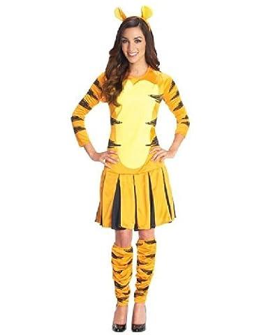 Rubie's officielle Tigrou pour femme Déguisement Winnie l'ourson personnage de dessin animé pour femme Costume de