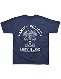 Amity Island Police Inspired by Jaws T-Shirt