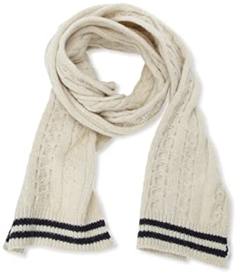 Selected Herren Schal Ronni scarf C, Uni, Weiß (Off White), One size (Herstellergröße:  Taille Unique)