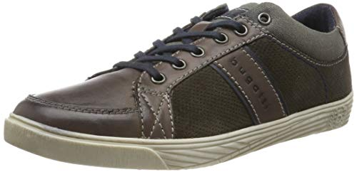 Business Casual Schuhe (bugatti Herren 323166043014 Sneaker, Grau Grey 1515, 46 EU)