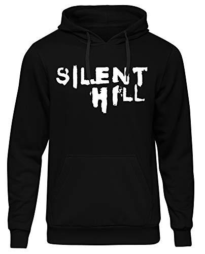 Uglyshirt89 Silent Hill Herren Kapuzenpullover | Horror Halloween Hölle Horrorfilm (3XL)