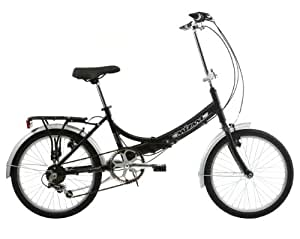 Mizani City+ Folding Bike - Black