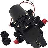 Phenovo 12V 60W High Pressure Misting Self Priming Diaphragm Water Pump Sprayer Universal Chemical Resistant