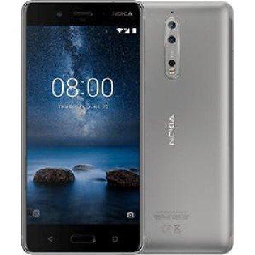 Nokia 8 Smartphone, 64 GB, Acciaio [Italia]