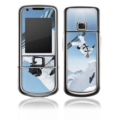 Nokia Arte 8800 Carbon Aufkleber Schutz Folie Design Sticker Skin Snowboard Schnee Berg