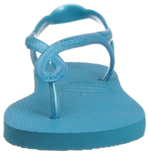 Havaianas Luna, sandales Femme Bleu - Capri blue