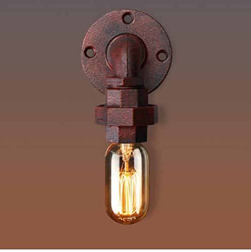 Industrielle Wandleuchte-Wandleuchte-Befestigungs-Wasserrohr-Art-Wandlampe, Rost -