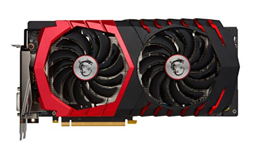 MSI NVIDIA GeForce GTX 1060 GAMING X 3 GB GDDR5 Memory PCI Express 3 Zero Froze Cooling Graphics Card