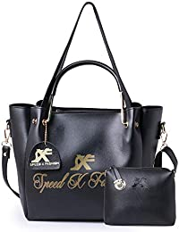 Speed X Fashion Women's Hand Held Bag With Sling Bag Combo (FNB-120R)