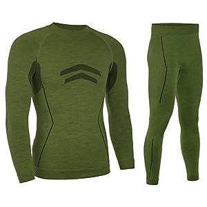 Freenord MERINOTECH Active Merino Woll Thermounterwäsche Funktionsunterwäsche Skiunterwäsche – Set oder Shirt oder Hose