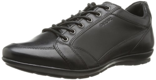 Geox U Symbol D, Men's Derby, Black (Blackc9999), 7.5 UK (41.5 EU)
