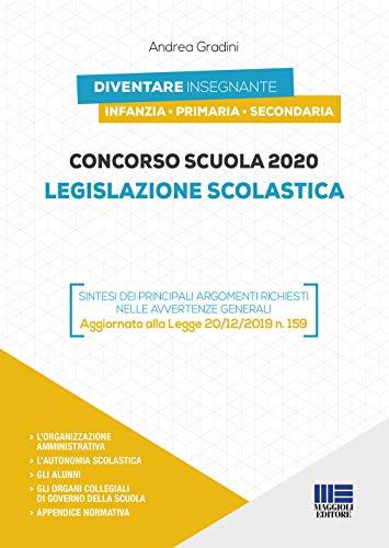 Concorso scuola 2020. Legislazione scolastica