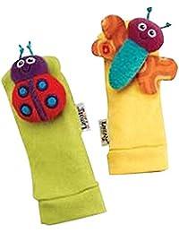 Ez Life Lamaze Foot Finders Rattle Socks (Set Of 2)