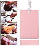 HUANGMENG Pulizia 2 PCS Eraser di resina EVA magico/Cancellazione multifunzione per pulizia/lavaggio (rosa) HUANGMENG