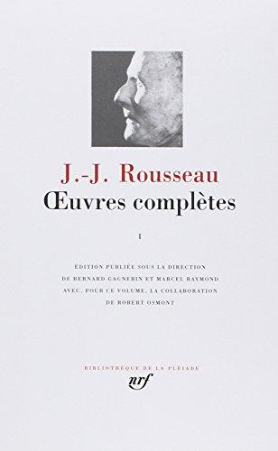 Vignette du document Oeuvres complétes. 1, Les Confessions. Autres textes autobiographiques.