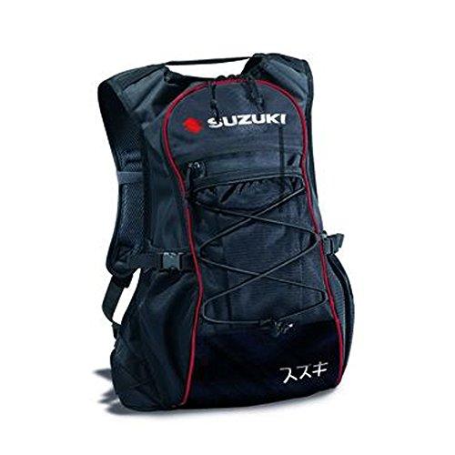 suzuki-bolso-de-viaje-negro-negro-rojo-24-liter-fassungsvermogen