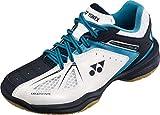 Yonex Chaussures de Badminton SHB Junior Blanc/Bleu/Rouge Taille 35