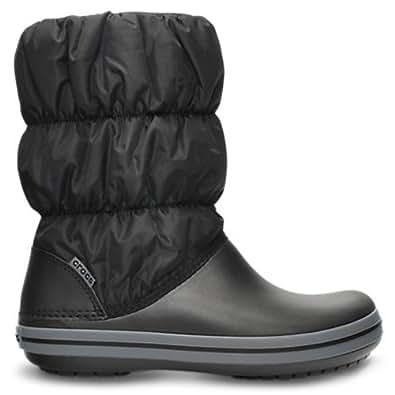Crocs Winter Puff Boot 14614-070 Damen Winterstiefel, black/charcoal, Gr. 38-39 EU / 8 US W