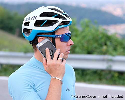 MORPHEUS LABS M4s Case, Schutzhülle für Apple iPhone 7, Hülle passend für M4s Bike Kit Halterung/Mount für Fahrrad-Navigation mit patentiertem magnetischem Schnell-Verschluss, grau [Slate Gray]