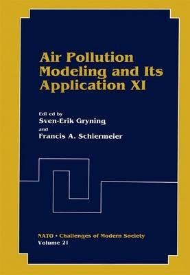 [(Air Pollution Modeling and Its Application: XI)] [Edited by Sven-Erik Gryning ] published on (October, 2012)