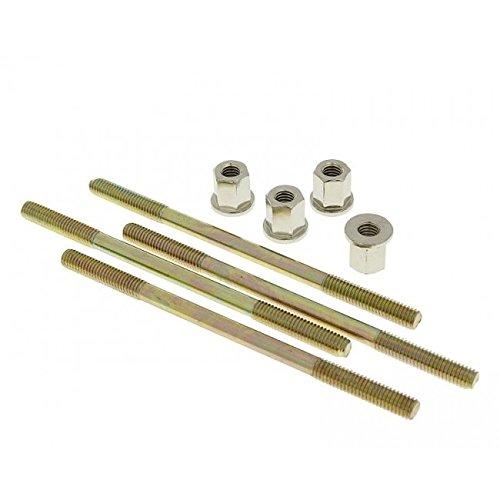 Stehbolzensatz Naraku mit Muttern M6 / 110 - 4 Stück