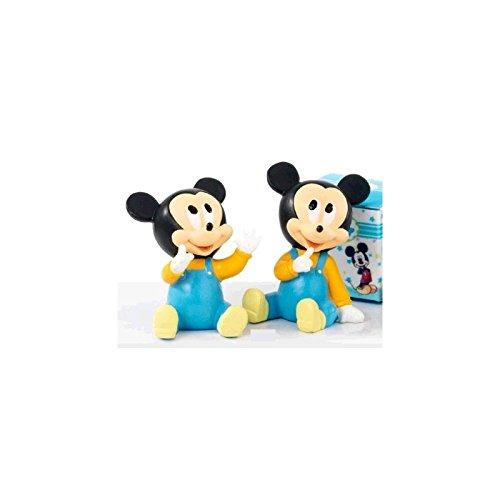 Assortiment de 2 figurines Baby Mickey naissance 7,5 cm