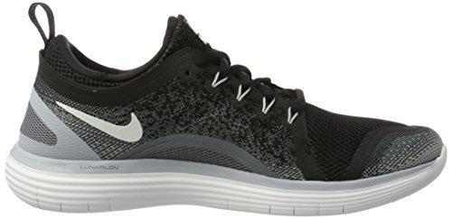 Nike Damen Women's Free RN Distance 2 Running Hallenschuhe Mehrfarbig (Black/White-Cool Grey-Dark Grey)