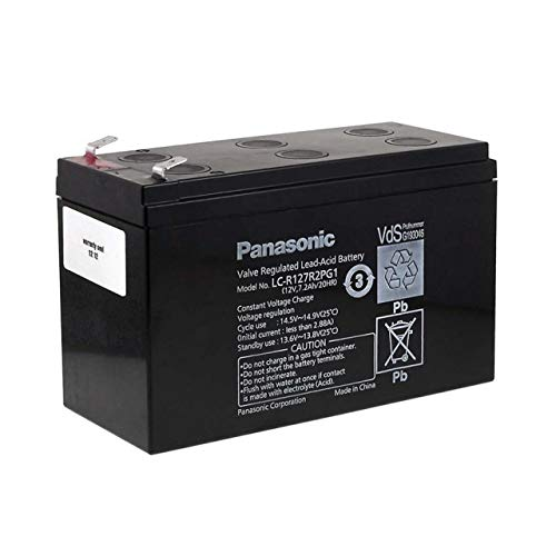 akku-net Panasonic Bleiakku LC-R127R2PG1, 12V, Lead-Acid