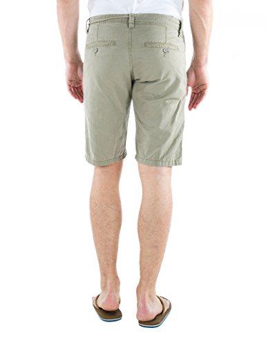 Timezone Herren Shorts Slim Marcus Chino Shorts Grün (Oregano 4217)