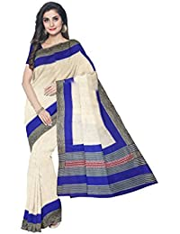 Sakhi Womens Blended Tussar Saree_IMR-2385_Multi-coloured_Free Size