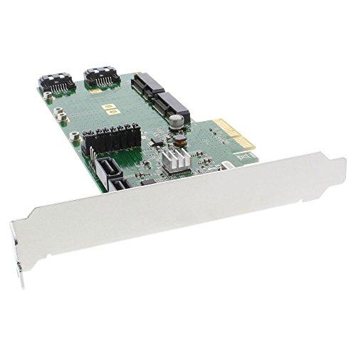 inline-18422-scheda-controller-hdd-4-x-sata-6-gb-s-raid-011-jbod-4-sata-e-2-msata-pcie-2-nero