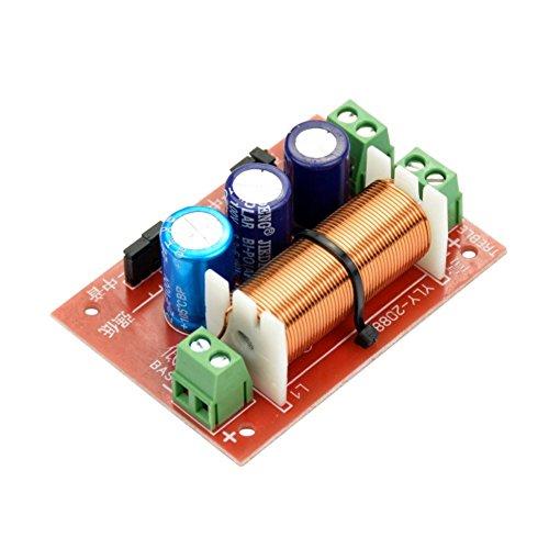DollaTek 400W Altavoz Ajustable Agudos/Graves 2 Unidades Divisor de frecuencia de Audio...