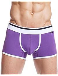 Xuba Boxer de bain Homme Coton Loisir Slip Short de bain pour Piscine Plage Compétition natation