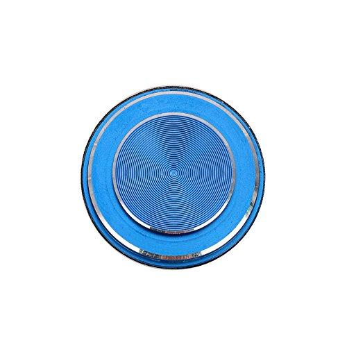Hanbaili (1pc) Joystick di gioco per smartphone, joypad in alluminio toucher a bilanciere, divertente controller di gioco per iPhone iPad Samsung Tablet telefono Android Huawei Xiaomi, blu