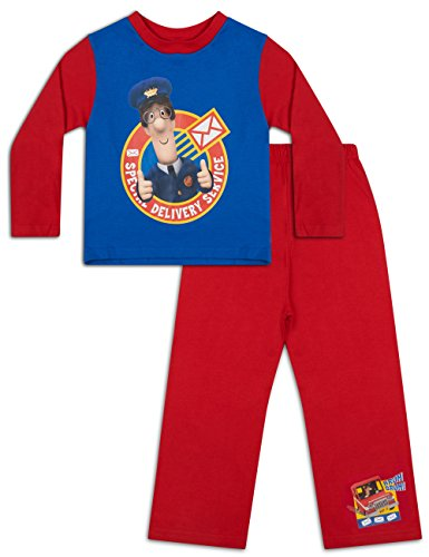 Image of Postman Pat Pyjamas Boys Cotton Pyjama Set (2-3 Years)