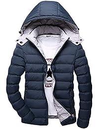 IOSHAPO Capa de algodón de Invierno Outwear de los Hombres Parte Caliente  de algodón Ropa Desmontable f68db9b81e50b