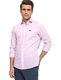 5be78cedcc Scotta 1985 – Camisa Vichy Rosa Frambuesa Regular Fit