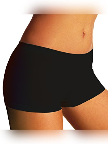 SENSI\' Boxershort Damen Panty Nahtlos Baumwolle und Mikrofaser Made in Italy