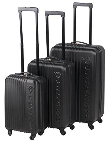 Preisvergleich Produktbild Dunlop Travel Laptop Rollkoffer, 120 Liter, Schwarz