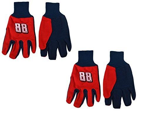 Offizielles Nascar Fan Shop Authentic 2er Pack Utility Arbeit Handschuh. Show Pride...