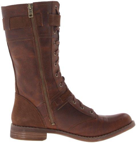 Timberland Ek Savin Hill Mid Boot, Bottes femme marrone (Tobacco Forty)